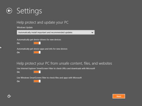 Настройка Windows 8